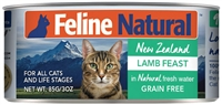FELINE NATURAL Lamb Feast 24-3 OZ can case