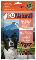 K9 NATURALS Lamb & Salmon Feast Freeze Dried Topper 3.5 OZ
