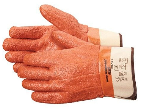 Ansell Winter Monkey Grip® Gloves - Rough, L/XL