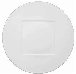 Hommage Dinner Plate - Square Center by Raynaud