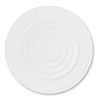 Hommage Dessert Plate - Round Concentric Center by Raynaud