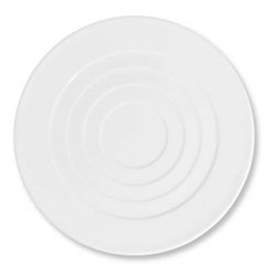 Hommage Buffet Round Plate - Round Concentric Center by Raynaud