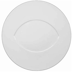 Hommage Dinner Plate - Almond Center by Raynaud