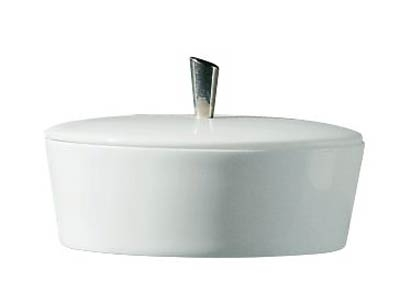 Hommage Covered Sugar Bowl with Metal Knob-Raynaud