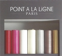 Very Large Silk Pillar - Point a La Ligne