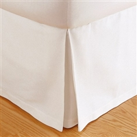 Tailored Pique Bed Skirt by Matouk