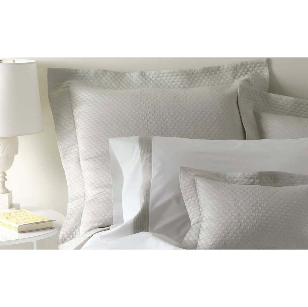 Pearl Luxury Bed Linens By Matouk