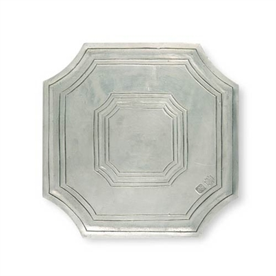 Octagonal Trivet by Match Pewter
