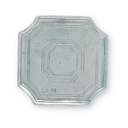 Octagonal Coasters (Pair) by Match Pewter