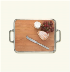 Match Pewter - Cheese Tray with Handles