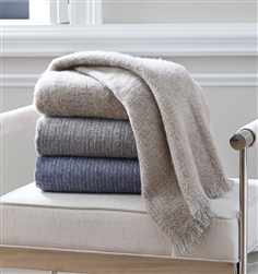 Gigia Fringed Throw by SFERRA