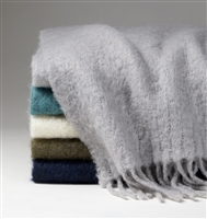 Motta Fringed Throw by SFERRA