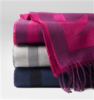 Floreale Fringed Throw by SFERRA