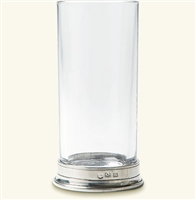 Crystal Highball Glass by Match Pewter
