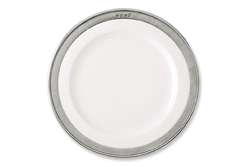Convivio Dinner Plate by Match Pewter