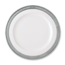 Convivio Buffet Plate by Match Pewter