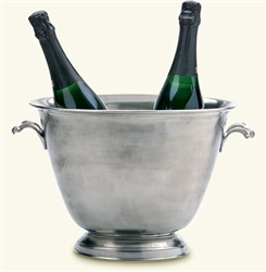 Double Champagne Bucket by Match Pewter