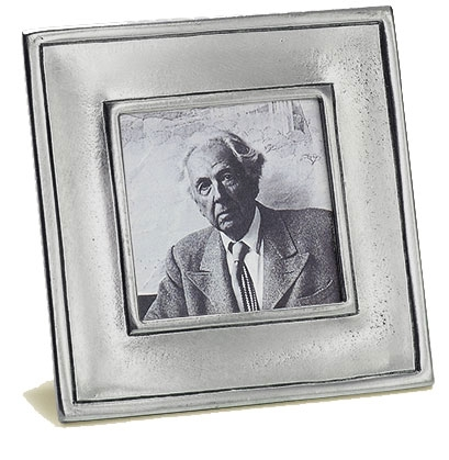 Match Pewter - Lombardia Small Square Frame