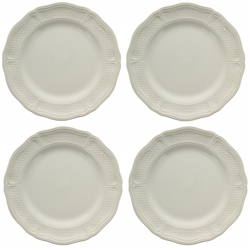 Pont Aux Choux White Dinner Plate (Set of 4) by Gien France