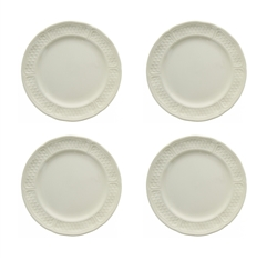 Pont Aux Choux White Canape Plate (Set of 4) by Gien France