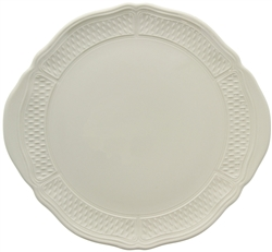 Pont Aux Choux White Cake Platter by Gien France