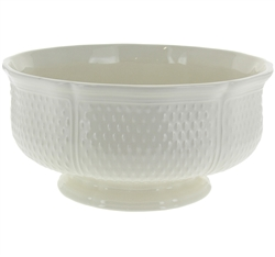 Pont Aux Choux White Open Vegetable Tureen (Large) by Gien France