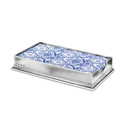 Dinner Napkin Box by Match Pewter