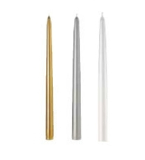 "12"" Taper Candles - Point a La Ligne"