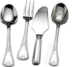 Couzon - Consul Silver Plated Three Piece Hostess