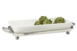 Convivio Baking Tray with Handles by Match Pewter