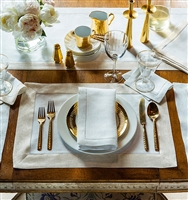 Filetto Napkins and Placemats by SFERRA