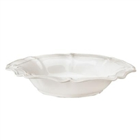 Berry and Thread Scallop Serving Bowl by Juliska