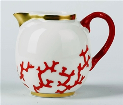 Cristobal Coral Creamer by Raynaud
