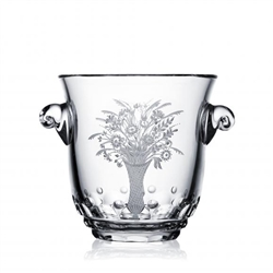 Florence Clear Ice Bucket by Varga Crystal