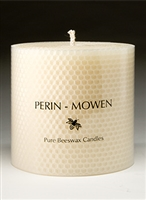 "4.5"" Connoisseur Pillar Candle by Perin-Mowen"