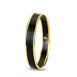 Black Gold Bangle by Halcyon Days