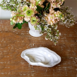 Ceramic Oyster Grey Rim (Small) by Beatriz Ball