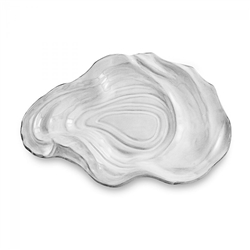 Ceramic Oyster Grey Rim (Large) by Beatriz Ball