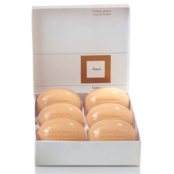 Jasmine Creme Grasse Soap (Set of 6) - Rance