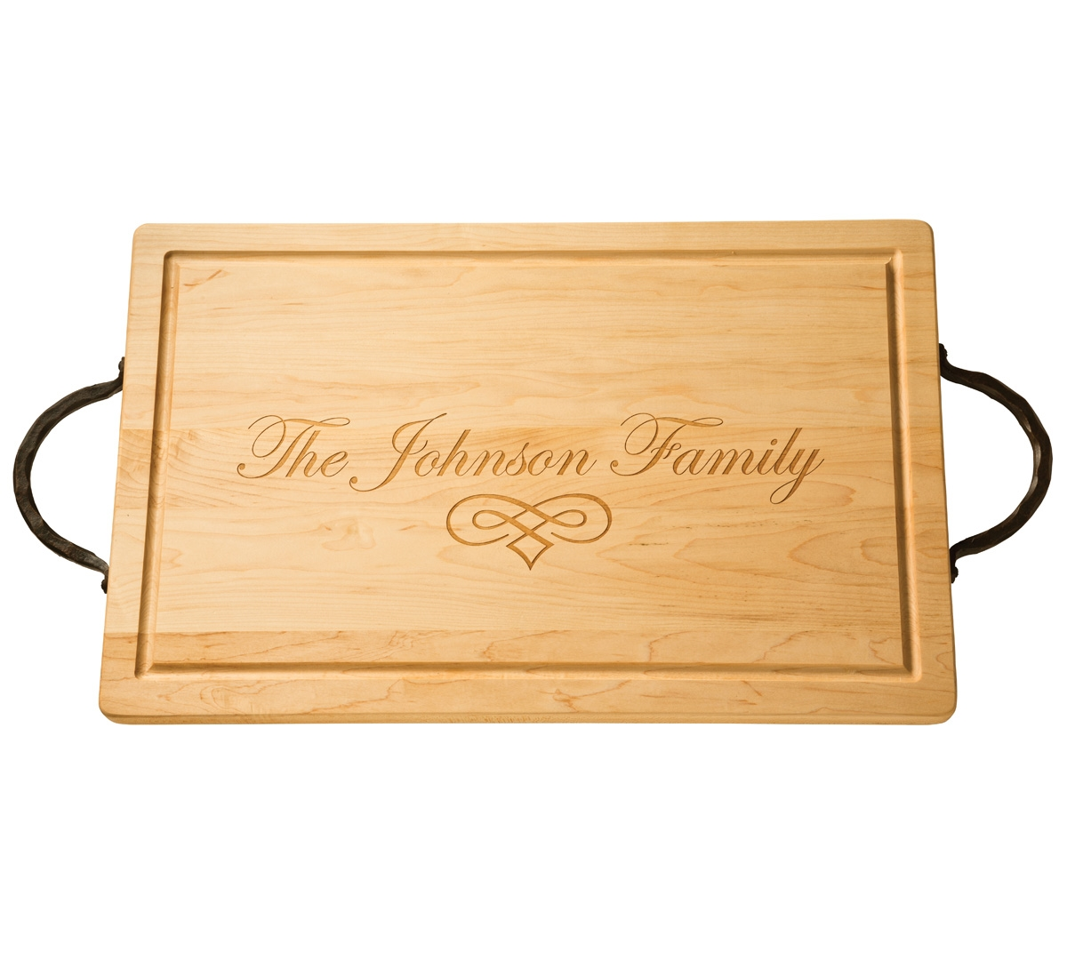 24 Personalized Rectangle Wood Cutting Board By Maple Leaf At Home