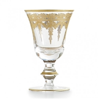 Arte Italica - Vetro Gold Wine Glass