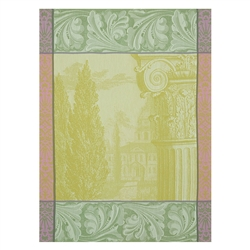 Baroque Jardin Tea Towel (Pair) by Le Jacquard Francais