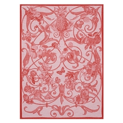 Tutti Frutti Tea Towel (Pair) by Le Jacquard Francais