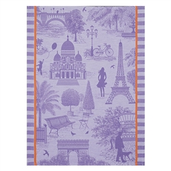 Toile de Paris  (Pair) by Le Jacquard Francais