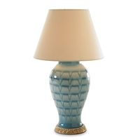 Turquoise Lamp by Bunny Williams Home