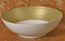 J.L. Coquet - Hemisphere Gold Small Soup/Cereal Bowl