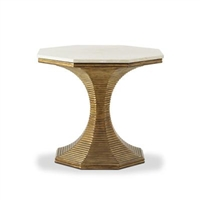 Hourglass Table by Bunny Williams Home
