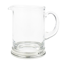 Crystal Branch Bar Pitcher by Match Pewter