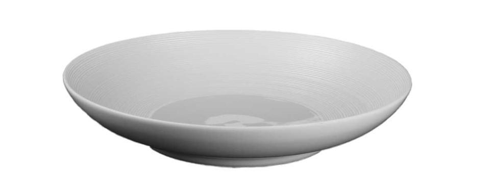 Coquet - Hemisphere White Pasta Plate