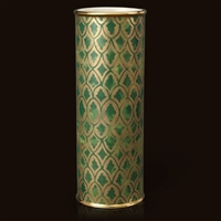 Fortuny Peruviano Green (Large) Vase by L'Objet